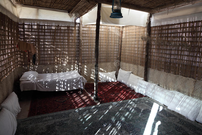 βεδουίνο σπίτι παραδοσιακό στοκ εικόνες με δικαίωμα ελεύθερης χρήσης