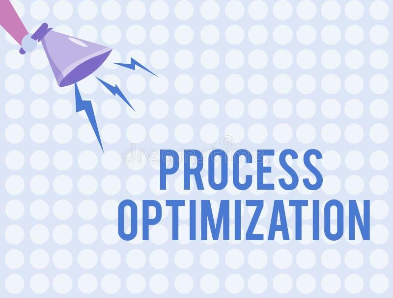 Βελτιστοποίηση διαδικασίας κειμένων γραψίματος λέξης Η επιχειρησιακή έννοια για βελτιώνει την αποδοτικότητα οργανώσεων μεγιστοποι απεικόνιση αποθεμάτων
