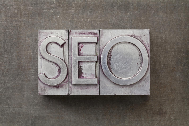 Βελτιστοποίηση μηχανών αναζήτησης) - SEO στοκ εικόνες