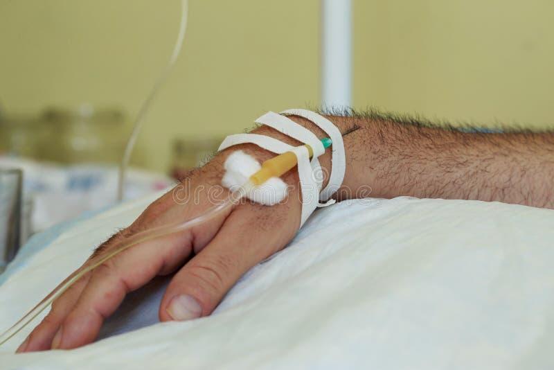 Βελόνα ιατρικό dropper στοκ φωτογραφία με δικαίωμα ελεύθερης χρήσης