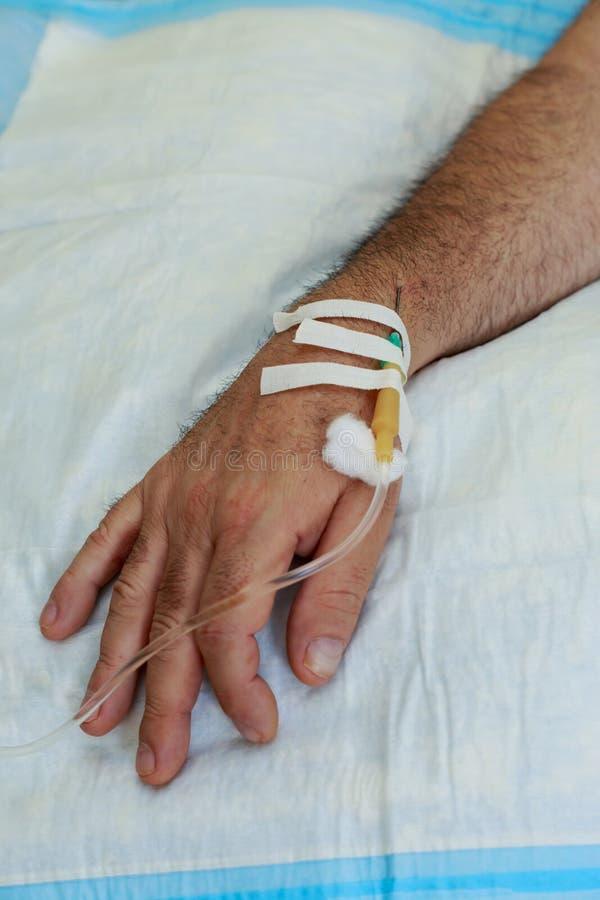 Βελόνα ιατρικό dropper στοκ εικόνες