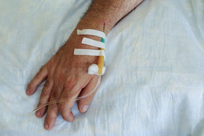 Βελόνα ιατρικό dropper στοκ εικόνα