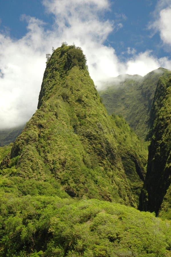 βελόνα Maui iao στοκ φωτογραφία με δικαίωμα ελεύθερης χρήσης