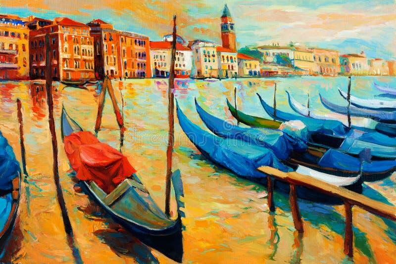 Βενετία, Ιταλία απεικόνιση αποθεμάτων