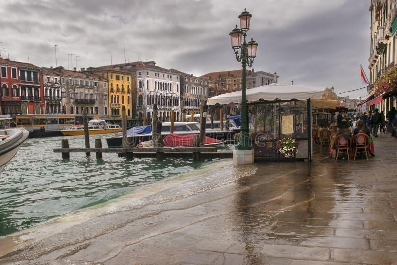 Βενετία στη βροχή στοκ εικόνα με δικαίωμα ελεύθερης χρήσης