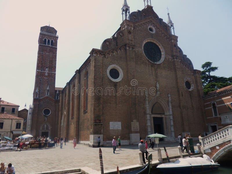 Βενετία - dei Frari βασιλικών στοκ εικόνες