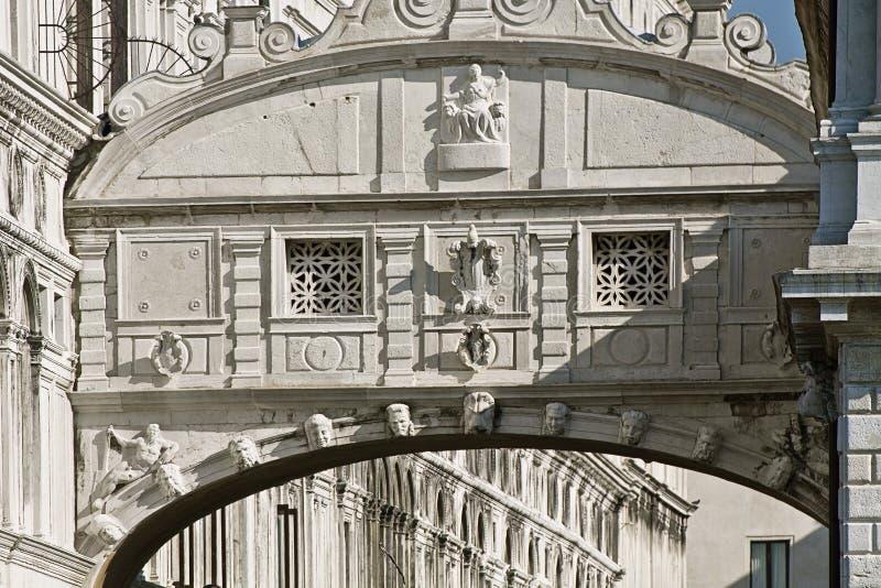Βενετία, ponte sospiri dei & x28 γέφυρα του sighs& x29  στοκ φωτογραφίες με δικαίωμα ελεύθερης χρήσης