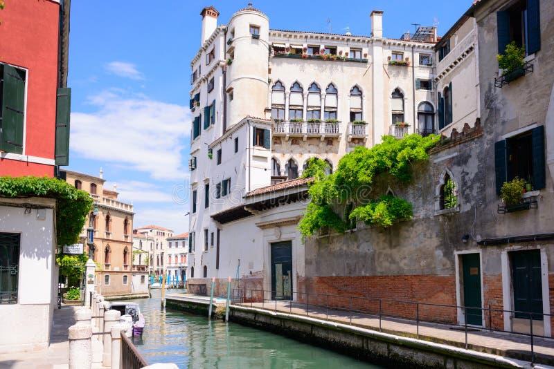 ΒΕΝΕΤΙΑ, ΙΤΑΛΙΑ - ΤΟ ΜΆΙΟ ΤΟΥ 2017: Καταπληκτική άποψη σχετικά με την όμορφη Βενετία, Ιταλία στοκ φωτογραφία