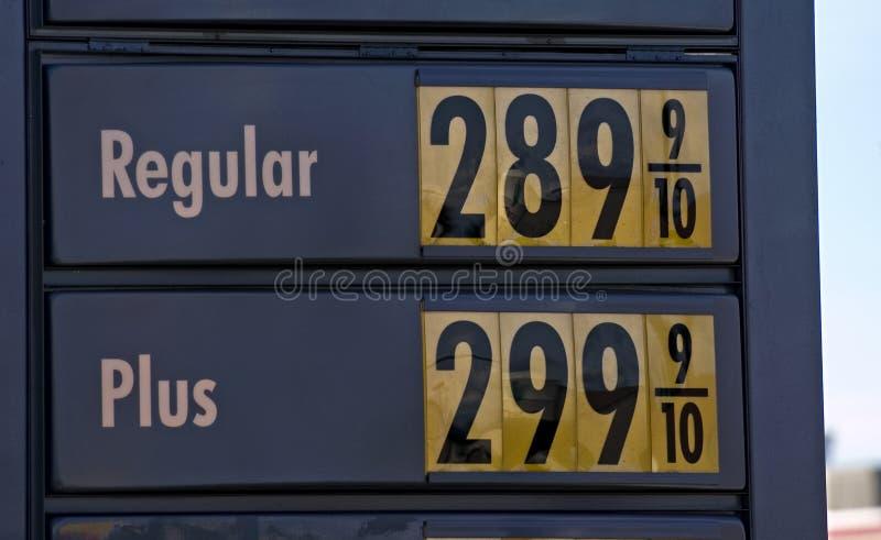 βενζινάδικο παρουσίαση&si στοκ φωτογραφία με δικαίωμα ελεύθερης χρήσης