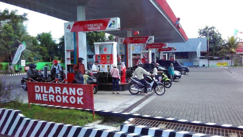 βενζινάδικο τροφών αυτοκινήτων σας στοκ εικόνα