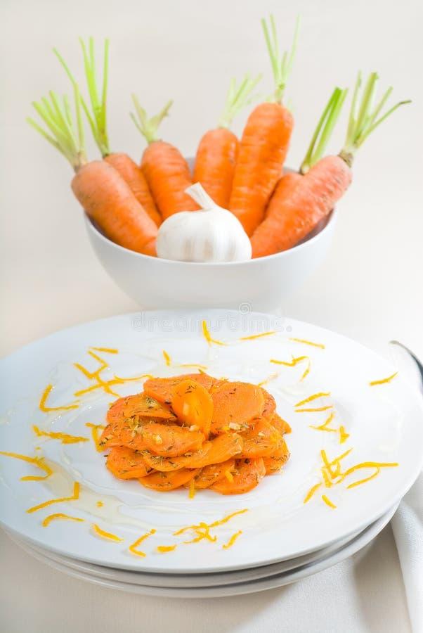βερνικωμένο καρότα μέλι στοκ φωτογραφία με δικαίωμα ελεύθερης χρήσης
