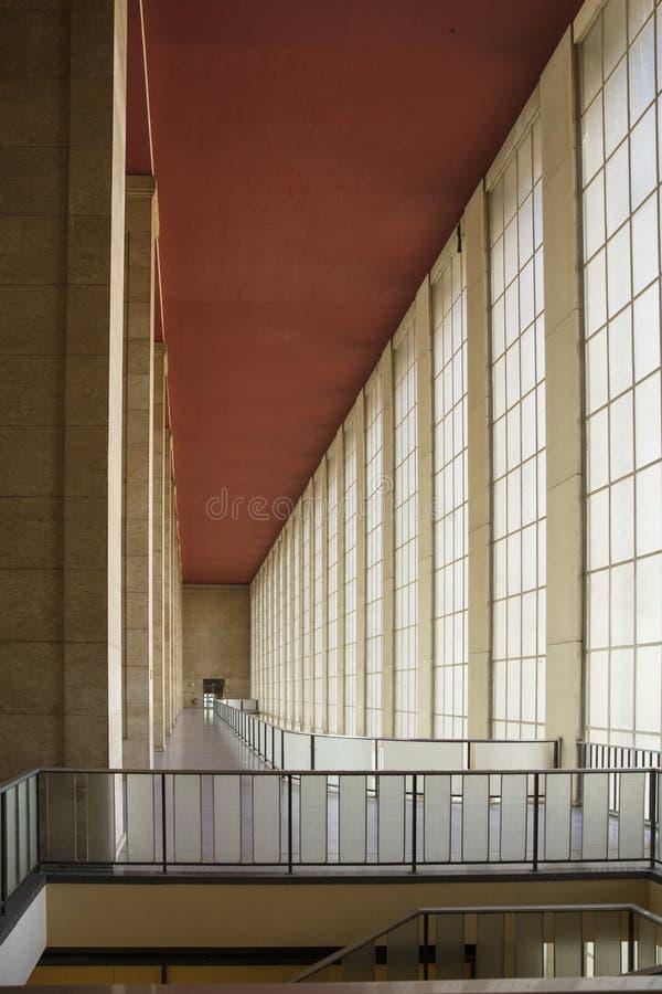 Βερολίνο, Γερμανία, τον Αύγουστο του 2018  Πρώην αεροδρόμιο του Βερολίνου Tempelhof στοκ φωτογραφία