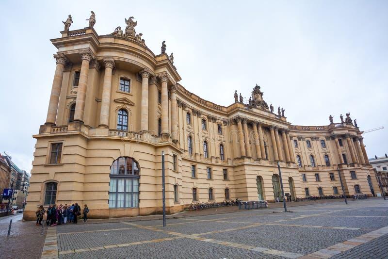 19 01 2018 Βερολίνο, Γερμανία - το πανεπιστήμιο Humboldt του Βερολίνου ι στοκ φωτογραφίες με δικαίωμα ελεύθερης χρήσης