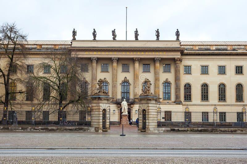 19 01 2018 Βερολίνο, Γερμανία - το πανεπιστήμιο Humboldt του Βερολίνου ι στοκ φωτογραφίες