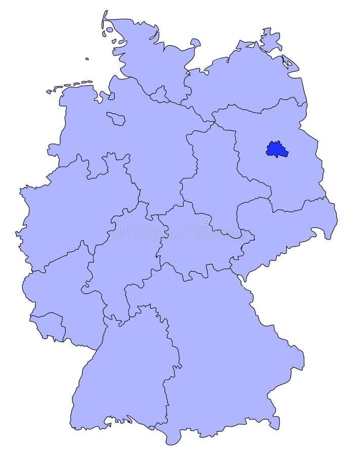 Βερολίνο Γερμανία απεικόνιση αποθεμάτων