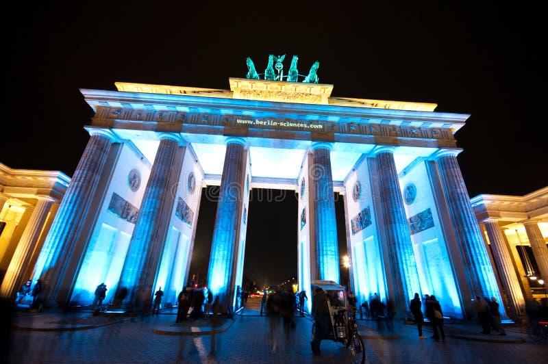 Βερολίνο, φεστιβάλ των φω'των στοκ εικόνα με δικαίωμα ελεύθερης χρήσης