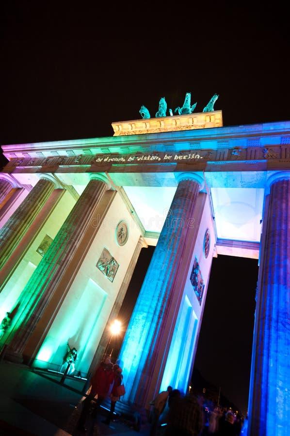 Βερολίνο, φεστιβάλ των φω'των στοκ φωτογραφίες με δικαίωμα ελεύθερης χρήσης