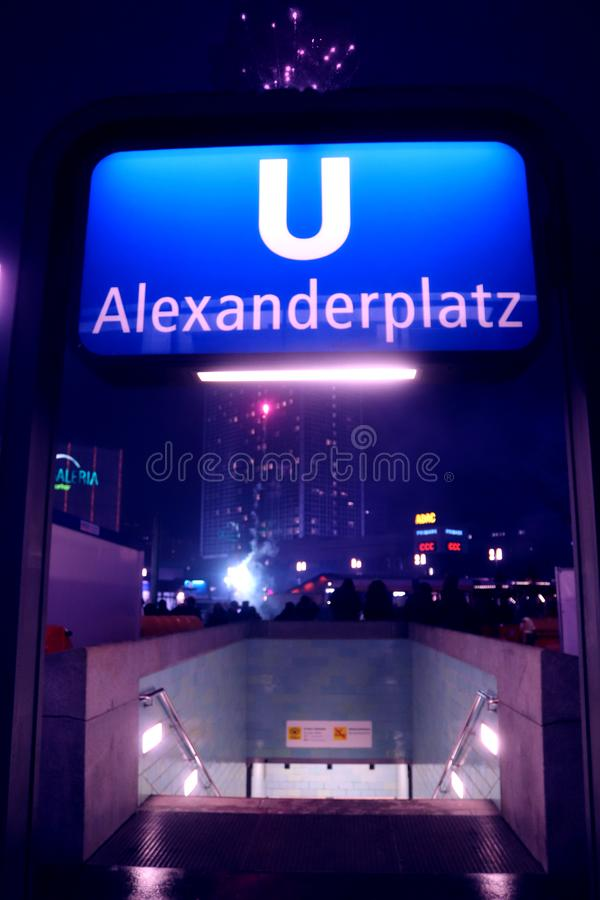 Βερολίνο - Alexanderplatz - Gernamy - γερμανικό κεφάλαιο στοκ φωτογραφία