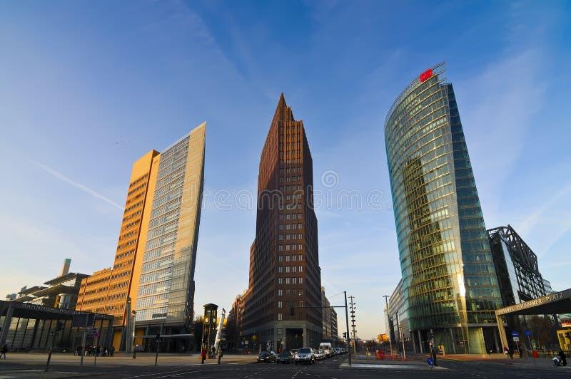 Βερολίνο platz potsdamer στοκ εικόνες