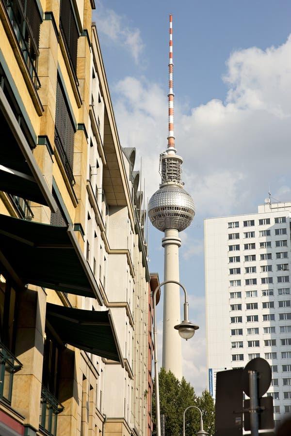 Βερολίνο fernsehturm στοκ εικόνες με δικαίωμα ελεύθερης χρήσης