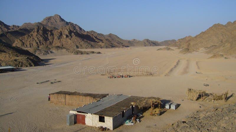 Βεδουίνο χωριό στοκ εικόνες