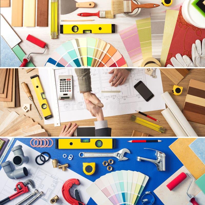 Βελτίωση DIY και σπιτιών στοκ εικόνες με δικαίωμα ελεύθερης χρήσης