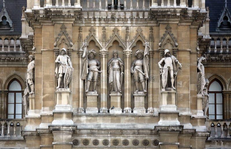 Βιέννη Δημαρχείο που χτίζει Rathaus στοκ φωτογραφία