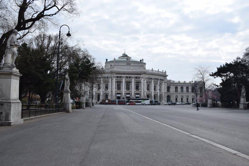 Βιέννη Burgtheater στοκ εικόνες