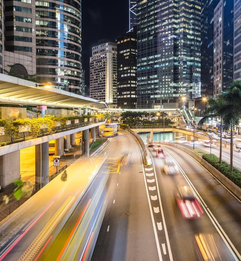 Βιασύνη κυκλοφορίας Χονγκ Κονγκ στοκ φωτογραφία με δικαίωμα ελεύθερης χρήσης