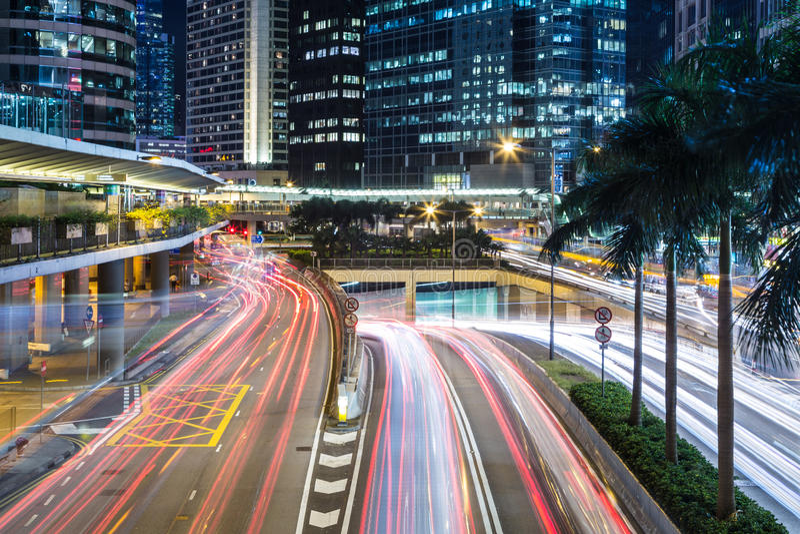 Βιασύνη κυκλοφορίας Χονγκ Κονγκ στοκ εικόνες με δικαίωμα ελεύθερης χρήσης