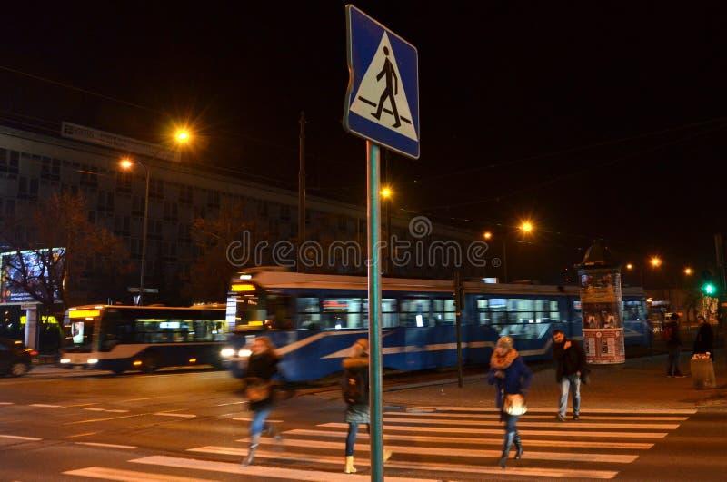 Βιασύνη, κυκλοφορία στην οδό στοκ εικόνες