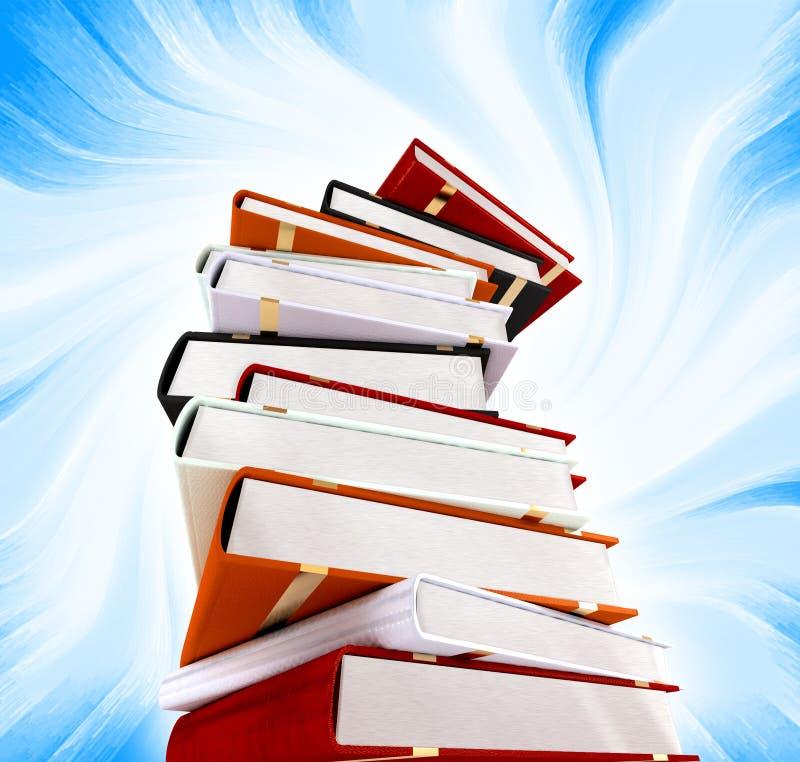 βιβλία ανασκόπησης στοκ φωτογραφία με δικαίωμα ελεύθερης χρήσης