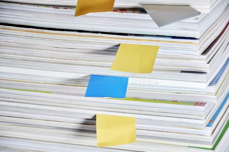 Βιβλία επικάλυψης και έγγραφο σημειώσεων στοκ εικόνα με δικαίωμα ελεύθερης χρήσης