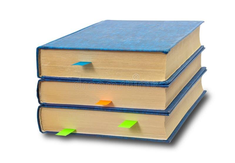 βιβλία σελιδοδεικτών στοκ φωτογραφίες