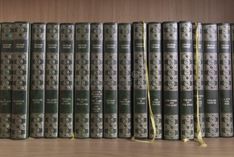Βιβλία του Graham Greene στοκ φωτογραφία με δικαίωμα ελεύθερης χρήσης