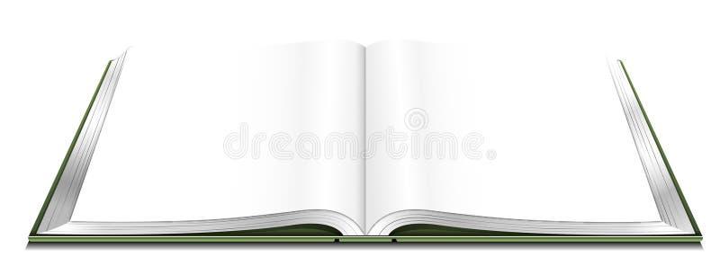 βιβλίο ανοικτό διανυσματική απεικόνιση