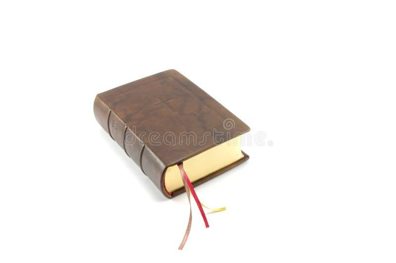 βιβλίο Βίβλων καφετί στοκ φωτογραφία