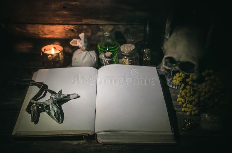 Βιβλίο μαγικού στοκ φωτογραφία