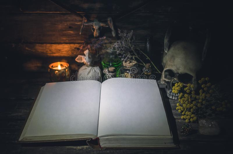 Βιβλίο μαγικού στοκ εικόνα