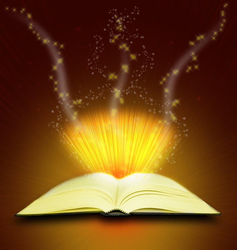 βιβλίο μαγικό διανυσματική απεικόνιση