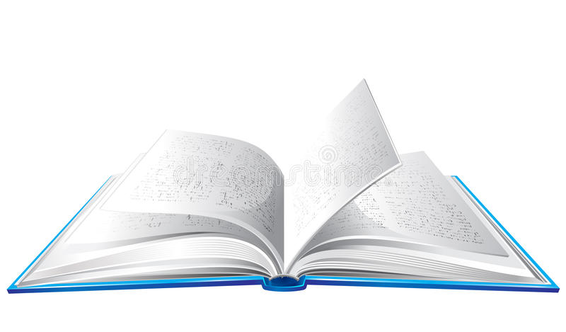 βιβλίο που ανοίγουν απεικόνιση αποθεμάτων