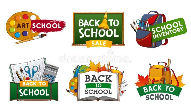 Βιβλίο, σημειωματάριο, προμήθειες σπουδαστών o απεικόνιση αποθεμάτων