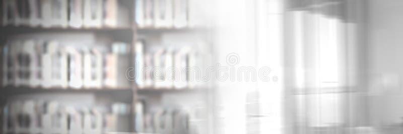 Βιβλιοθήκη εκπαίδευσης με την ελαφριά μετάβαση παραθύρων στοκ φωτογραφίες με δικαίωμα ελεύθερης χρήσης