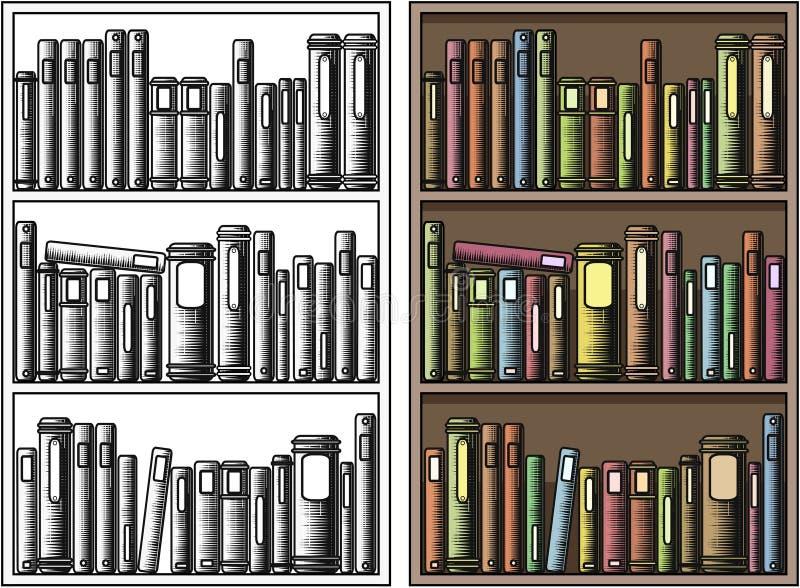 βιβλιοθήκη ελεύθερη απεικόνιση δικαιώματος