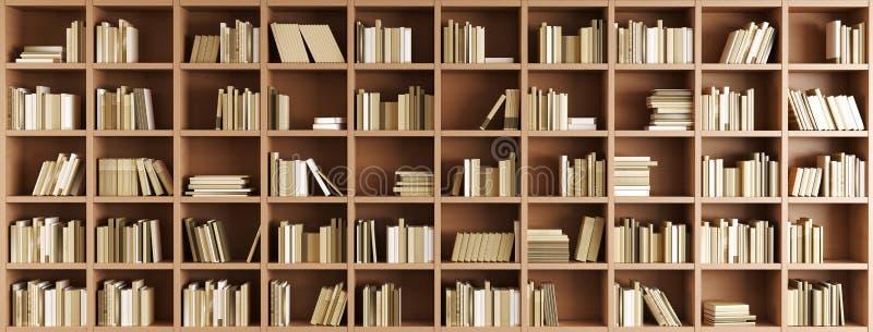 Βιβλιοθήκη απεικόνιση αποθεμάτων