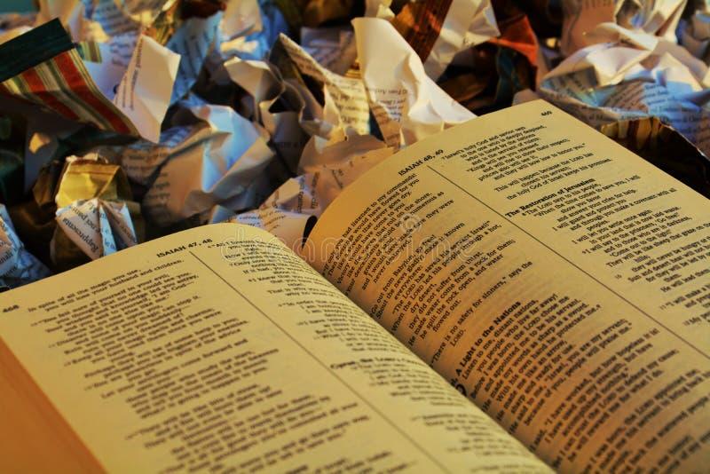 Βιβλία απορρίμματα Βίβλων στοκ φωτογραφία με δικαίωμα ελεύθερης χρήσης