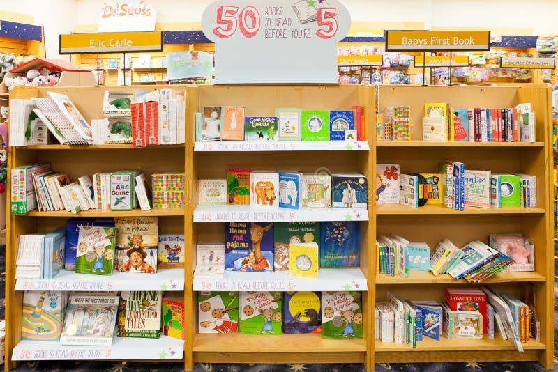 Βιβλία των δημοφιλών παιδιών στοκ εικόνα με δικαίωμα ελεύθερης χρήσης