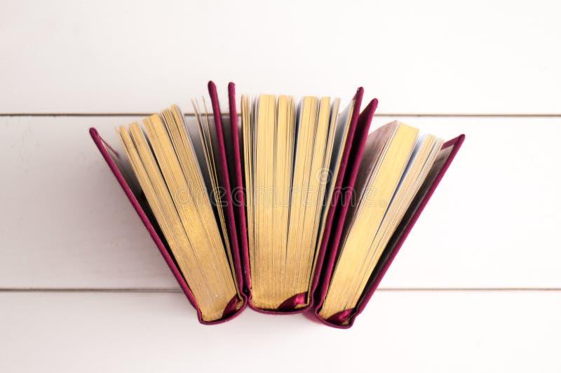 βιβλία χρυσά στοκ φωτογραφίες