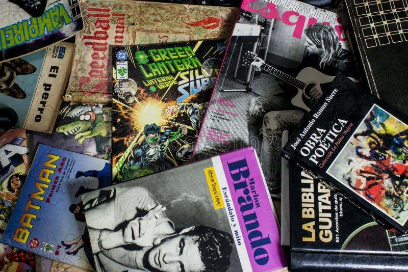 Βιβλία - Libros στοκ φωτογραφία με δικαίωμα ελεύθερης χρήσης