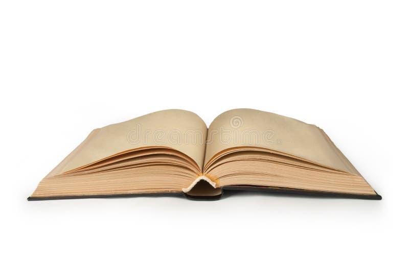 βιβλίο ανοικτό κενός ανοικτός βιβλίων στοκ εικόνα